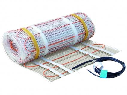 Fußbodenheizung / Heizmatte 500W, 6 x 0, 5 m, 160W pro qm, Vitalheizung
