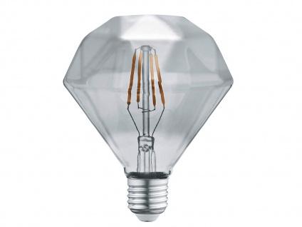 Filament LED Leuchtmittel Diamant rauchfarbig E27 4 Watt 100 Lumen Warmweiß