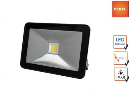 LED Strahler 10W warmweiß Baustrahler IP65, Scheinwerfer Arbeitsleuchte Fluter