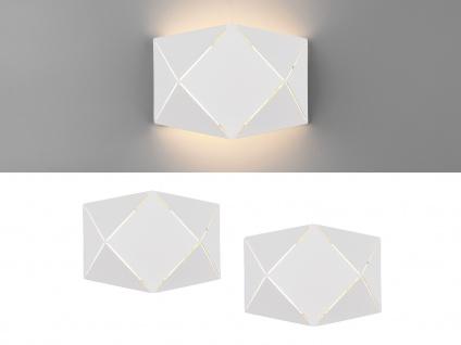 Ausgefallene LED Wandleuchten, flache Wandlampen für Treppenhaus Innenwand klein