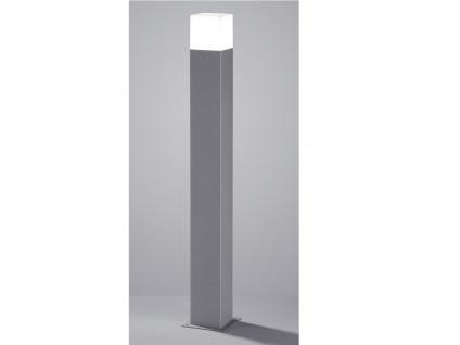 LED Pollerleuchte Titanfarben 80cm - 2er Set Wegeleuchten Terrassenbeleuchtung - Vorschau 5