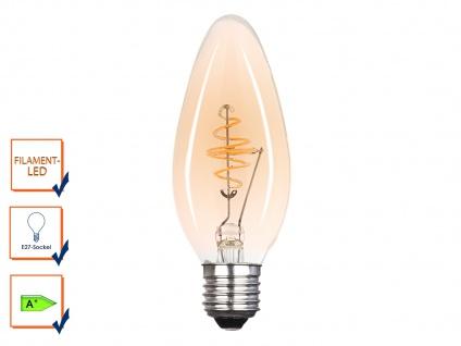 LED Leuchtmittel 3 Watt, 150 Lumen, 2000 Kelvin, E27-Sockel, Filament LED