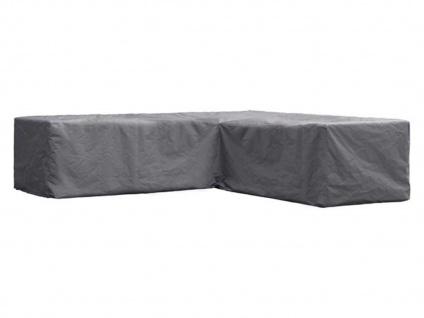 Schutzhülle XXL Abdeckung L-förmig für Loungemöbel, 300x300cm, Abdeckplane Folie