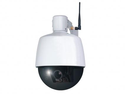 Dome IP Überwachungskamera outdoor, fernbedienbar per Smartphone