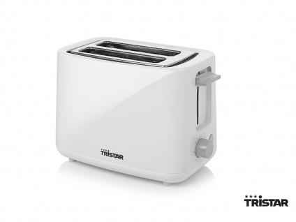 Design Toaster Kunststoff 2 Scheiben Toaster Brötchenwämer 7 Stufen Brotröster