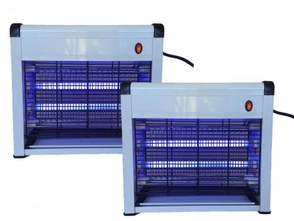 Praktische Insektenvernichter mit 8 Watt UV-Lampen, 2er Set Mückenfallen - Vorschau 2