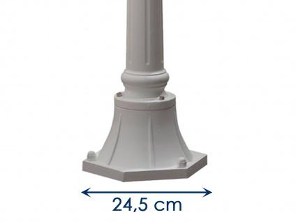Weiße Wegeleuchte FIRENZE Standleuchte Mastleuchte Gartenleuchte IP43 - Vorschau 5