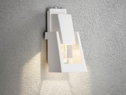 Dimmbare Außenwandleuchte POTENZA Wandleuchte, 350Lm, austauschbares LED Modul