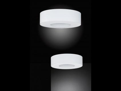 Runde Deckenleuchte Schirm & Abdeckung weiß Ø 65cm Wohnraumleuchten Bürolampe - Vorschau 5