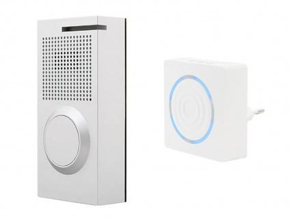 Wifi Audio Türsprechanlage Einfamilienhaus mit Funk Zusatzgong - Smartphone App