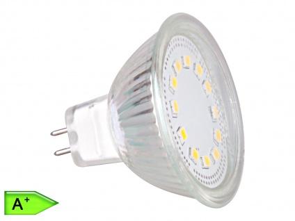 LED Leuchtmittel 3W kaltweiß, GU5.3, 12V, 230 Lumen, XQ-lite
