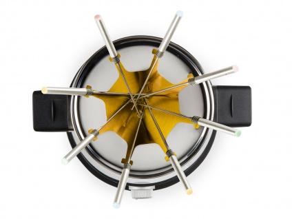 Edelstahlfondue für 8 Personen geeinet mit Cool-Touch-Griffen und 1500 Watt - Vorschau 4