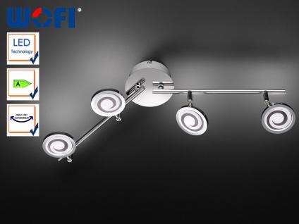 Deckenleuchte LED, Spots / Ausleger schwenkbar, Wofi-Leuchten