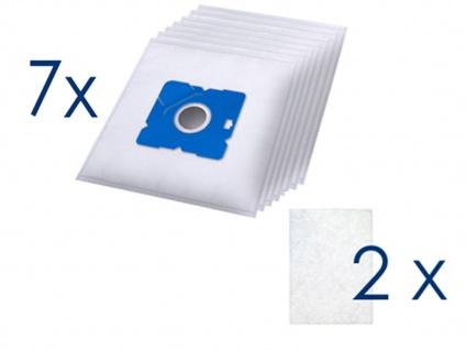 Bodenstaubsauger HEPA-Filter + 7 Staubsaugerbeutel, leiser Staubsauger Sauger - Vorschau 5