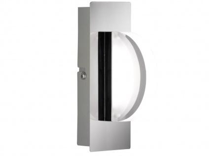 LED-Wandleuchte Chrom / Acrylglas, Schalter, Wofi-Leuchten - Vorschau 2