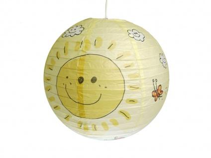 Kinderlampe mit Papier Lampenschirm SUNNY Lampion Hängeleuchte Kinderzimmer