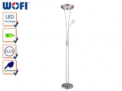 LED Stehlampe NAOMI, Leselicht Flexibel, Deckenfluter Stehleuchte LED Stehlampe