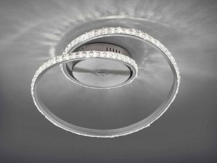 Dimmbare LED Ring Deckenleuchte mit Farbwechsel Fernbedienung Nachtlichtfunktion