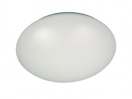 Deckenleuchte/Deckenschale rund, Kunststoff opalweiß, Ø 36cm, Treppenhauslampe