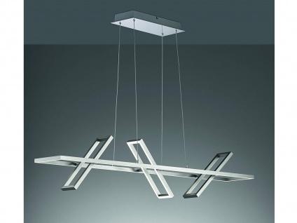 3 flammige LED Balken Pendelleuchte dimmbar schwenkbar - stylishe Esstischlampe