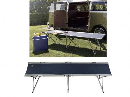 2er SET Klappbett kleines Packmaß Reisebett & Campingbett - Zustellbett für Zelt