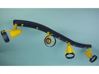 LED Strahlerleiste 70cm 4 Spots schwenkbar Beleuchtung Kinderzimmer Strahler 696 - Vorschau 3