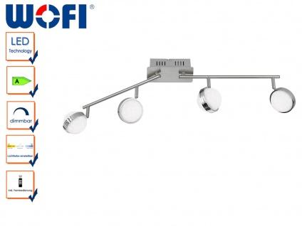 LED Deckenleuchte STER, L. 84cm, dimmbar, Fernbedienung, 3000-6500K, Deckenlampe