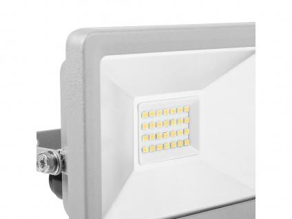2 Stk 20W Strahler grau Baustrahler LED neutralweiß Scheinwerfer Arbeitsleuchte - Vorschau 4