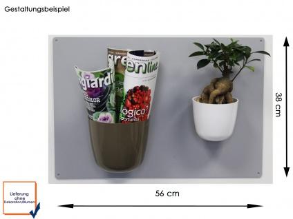 Wandaufbewahrung, Set Magnettagel und 2 Töpfen Kugel Ø 10 und 15cm, KalaMitica