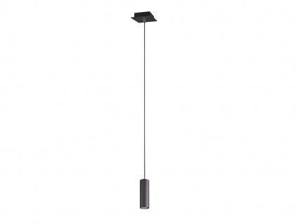 Innenlampe zum Aufhängen, schwarz matt Pendel für Wohnraum, Esszimmer, Bar & Küche