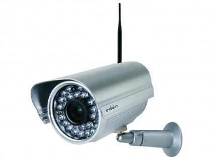 Netzwerkkamera Innen, 3fach opt. Zoom, 40m Nachtsicht, App