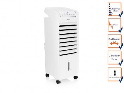 Turmventilator mit Kühlung Timer & Fernbedienung oszillierend 3 Stufen Rollen