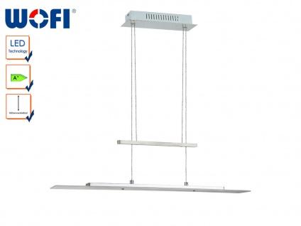 Höhenverstellbare LED Hängeleuchte 80 cm lang, Wofi-Leuchten