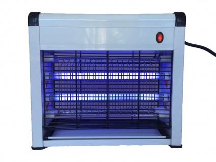 Elektrischer Insektenvernichter mit UV, Mückenschutz Fliegenfalle Schnaken Licht - Vorschau 2