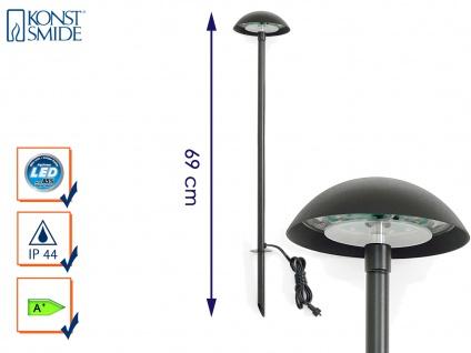LED-Stableuchte Erdspießleuchte Gartenstrahler Gartenspot Spotleuchte AMALFI