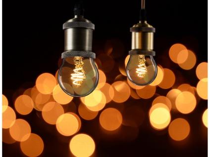 3x LED Leuchtmittel Globe 3 Watt 150 Lumen 2000 Kelvin E27-Sockel Filament LED - Vorschau 4