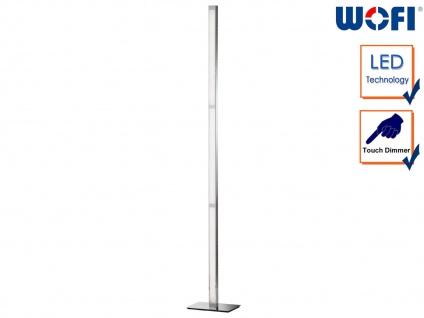 LED Stehleuchte Touchdimmer Höhe 139, 5cm, Wohnraumleuchte Dielenlampe Standlampe