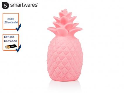 LED Dekoleuchte Ananas batteriebetrieben warmweiße LED Nachtlicht Dekoleuchte
