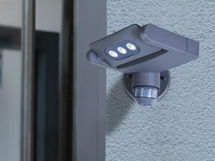 2er Set Außenwandleuchte mit Bewegungsmelder IP65 drehbar LED Wandleuchten - Vorschau 5