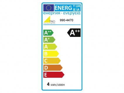 Windstoßkerzenförmiges LED E14 Leuchtmittel, 4 Stufen Switch Dimmer, warmweiß 4W - Vorschau 4