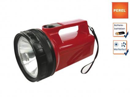 Ultrahelle Krypton Taschenlampe / Handlampe wetterfest, Suchscheinwerfer Outdoor