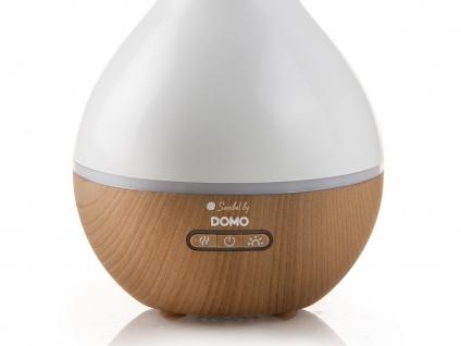 Duftzerstäuber / Duftlampe mit 7fach LED-Farbwechsel, inkl. 4er-Duftöl-Set - Vorschau 4