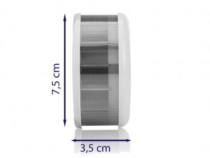 2er-Set Mini 10-Jahres Rauchwarnmelder VDS & DIN EN14604/ Maße nur 75 x 35 mm - Vorschau 3