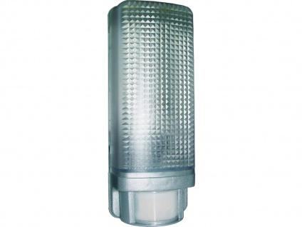 Außenleuchte mit 12m/110° Bewegungsmelder für ESL und Glühlampen