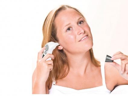 Infrarot Fieberthermometer Stirnthermometer, ideal für Baby & Kind, Wärmemesser - Vorschau 3