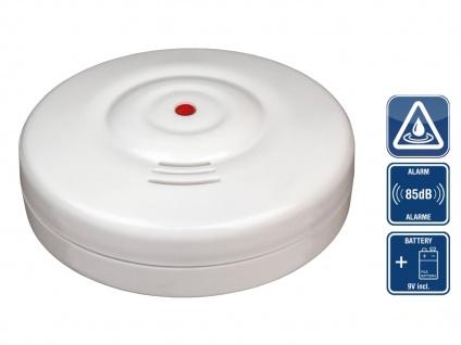 Wassermelder Wasseralarm Wasserwächter Drahtlos 85dB inkl. Batterie