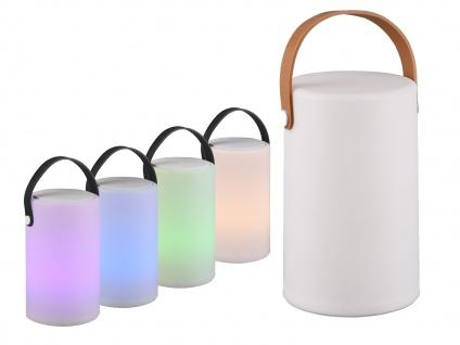 2 LED OUTDOOR Akku Tischlampen mit Farbwechsel Tischleuchten kabellos ohne Strom
