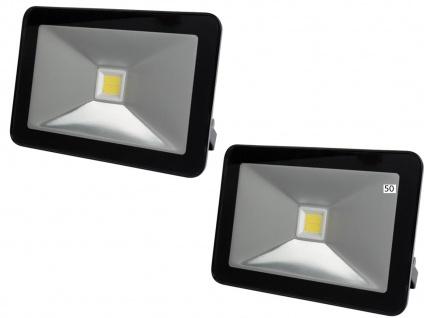 2er Set 50W LED Arbeitsleuchten Strahler, Flutlicht Scheinwerfer Fluter IP65 - Vorschau 2