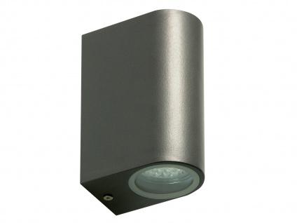 Ranex LED-Außenwandleuchte Bastia Alu anthr., up/down-light, IP44