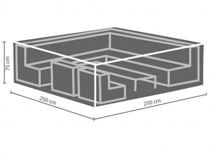 Schutzhülle Abdeckung für Loungemöbel, 250x250cm, Abdeckplane Lounge Garten - Vorschau 3